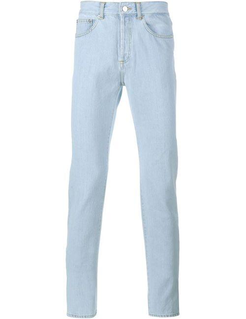 Givenchy | Мужское Синий Cuban Fit Bleached Denim Jeans
