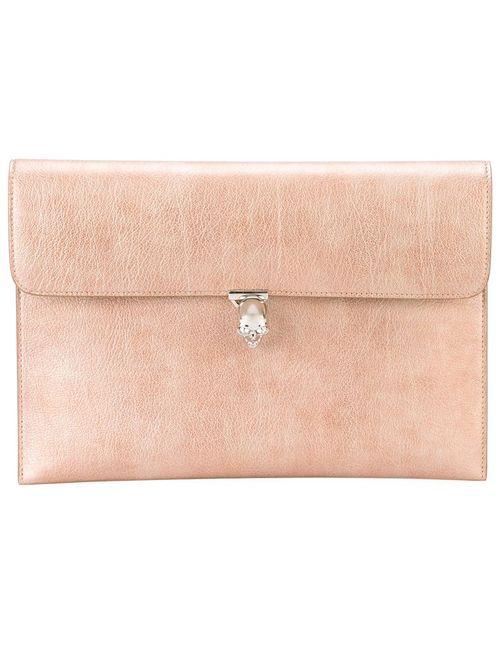 Alexander McQueen | Женское Розовый Skull Flap Wallet