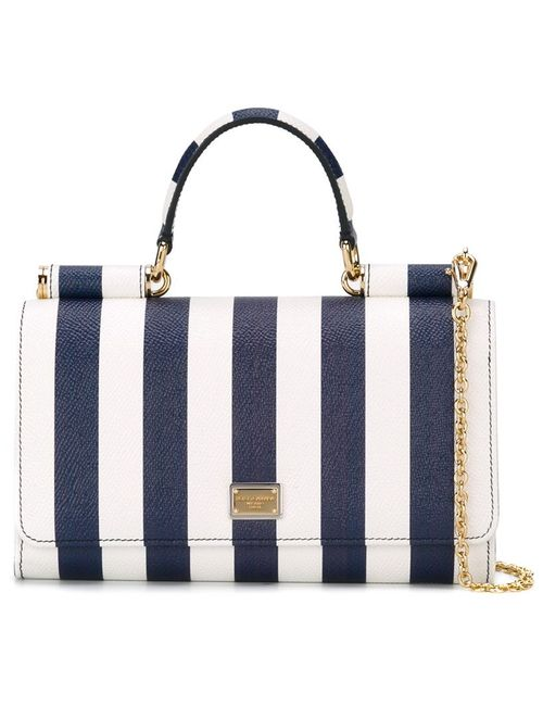 Dolce & Gabbana   Женское Синий Mini Von Wallet Cross Body Bag