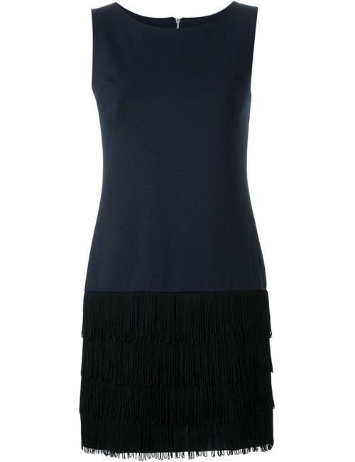 GUILD PRIME | Женское Синий Sleeveless Fringed Dress
