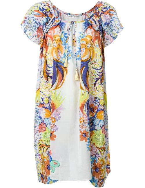 Tsumori Chisato | Женское Многоцветное Платье С Цветочным Принтом