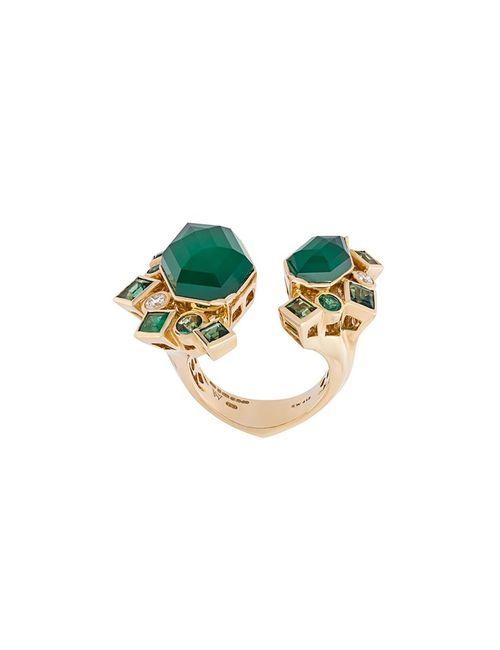 Stephen Webster | Женское Зелёный Crystal Haze Emerald And Diamond Ring