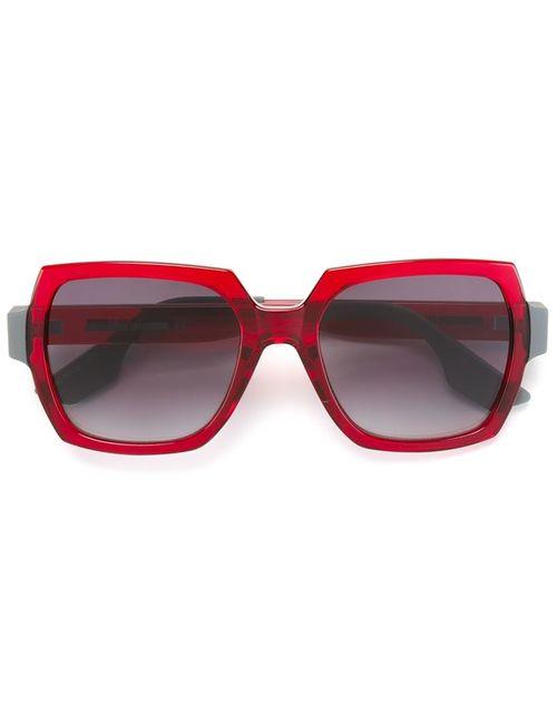 Mcq Alexander Mcqueen | Женские Красные Большие Солнцезащитные Очки