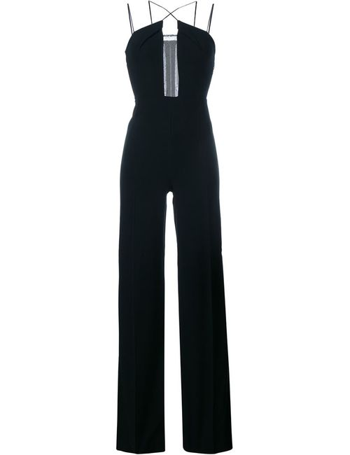 Roland Mouret | Женское Чёрный Malvern Sleeveless Jumpsuit