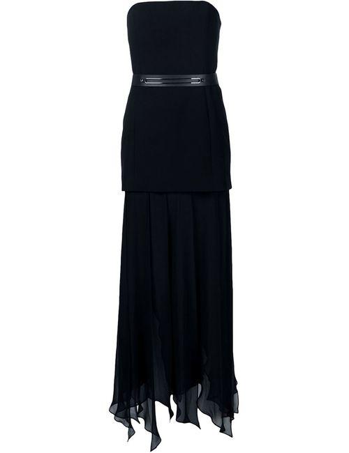 Halston Heritage | Женское Чёрный Strapless Draped Dress