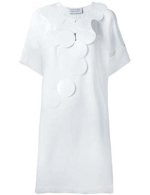 Gianluca Capannolo | Женское Белый Disc Applique Dress
