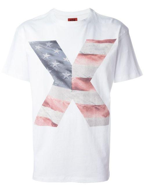 424 Fairfax | Мужское Белый X T-Shirt