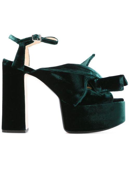 No21 | Женское Зелёный Platform Sandals