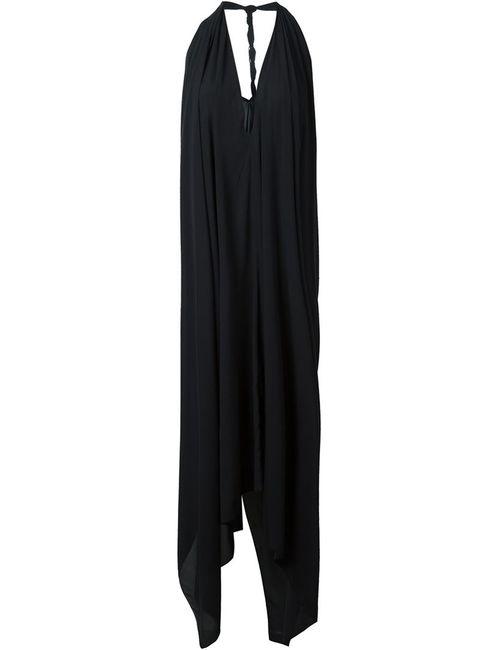 Lost & Found Ria Dunn | Женское Черный Расклешенное Платье С Вырезом-Халтер