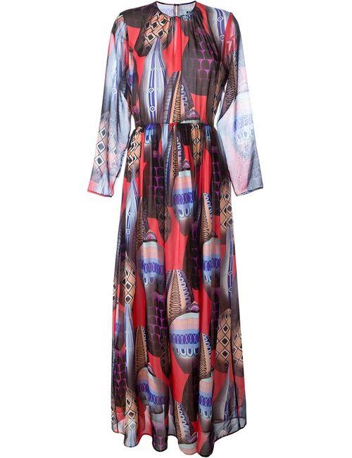 MSGM | Женское Многоцветное Платье С Принтом Воздушных Шаров