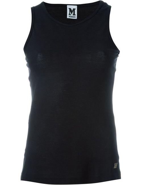 Missoni | Женское Чёрный Logo Applique Top