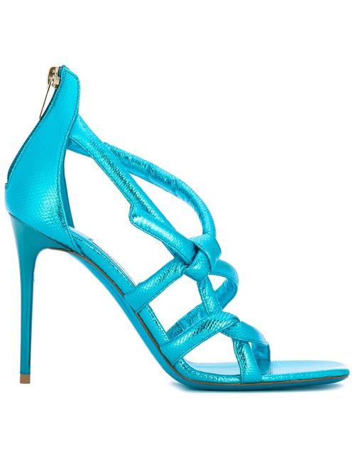Jimmy Choo | Женское Синий Knot Sandals