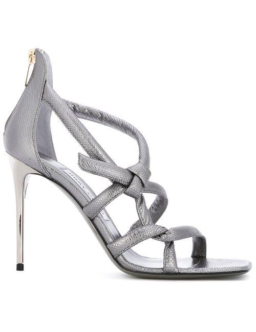 Jimmy Choo | Женское Серебристый Knot Sandals