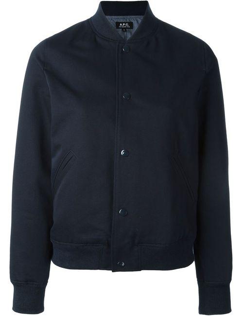 A.P.C. | Женское Синий Bomber Jacket