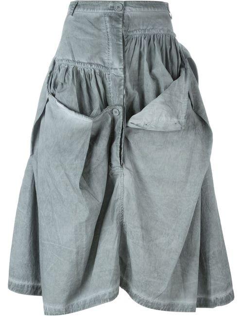 Rundholz | Женское Серый Button Detail Ruffled Skirt
