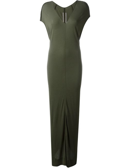 Rick Owens | Женское Зелёный Draped Maxi Dress