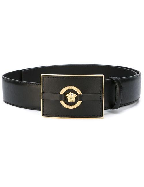 Versace | Мужское Черный Medusa Rectangular Belt