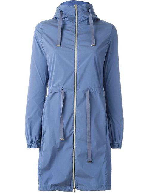Herno | Женское Синий Hooded Raincoat