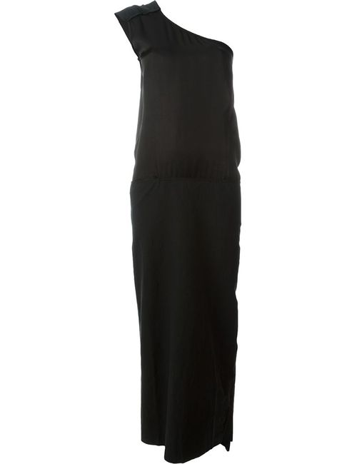 ANDREA YA'AQOV | Женское Чёрный One Shoulder Maxi Dress