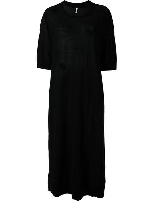 Boboutic | Женское Чёрное Трикотажное Платье Mako