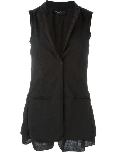ANDREA YA'AQOV | Женское Чёрный Sleeveless Blazer