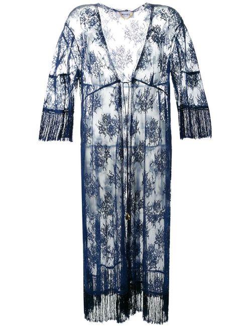 Muveil | Женское Синий Lace Long Cardigan