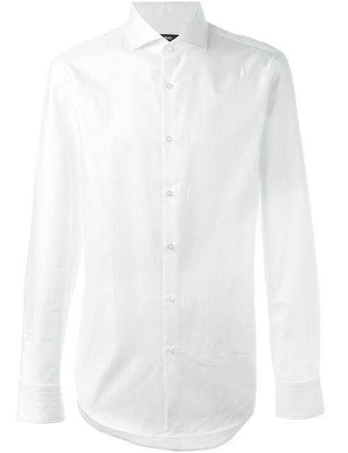 Hugo | Мужское Белый Classic Shirt