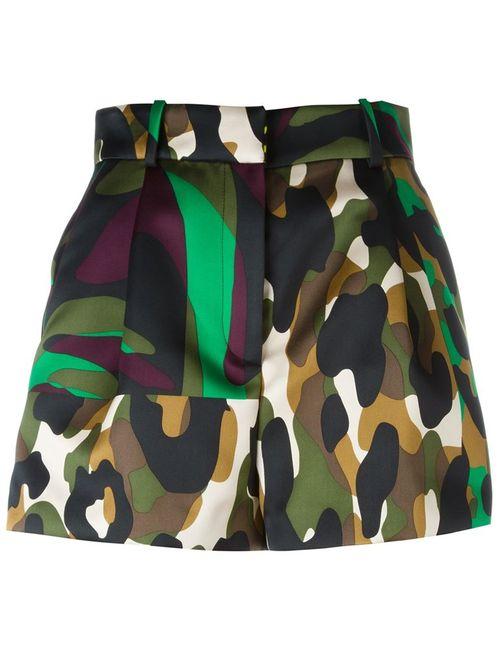 Versace | Женское Многоцветный Camoupard Shorts