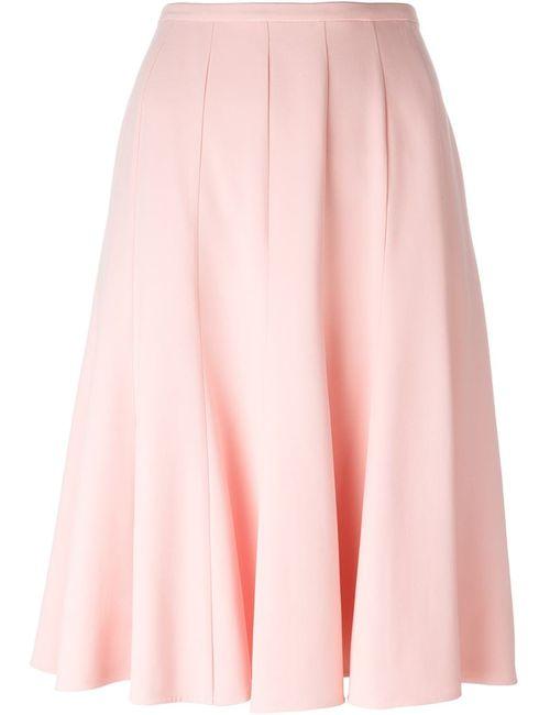 Ermanno Scervino | Женская Розовая Плиссированная Юбка