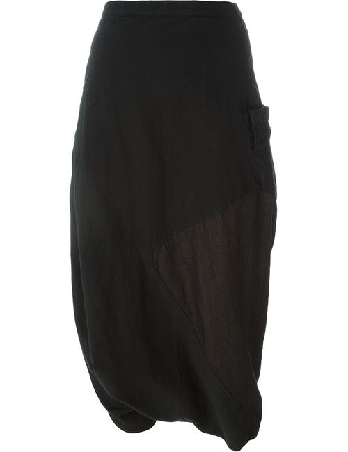 ANDREA YA'AQOV | Женское Чёрный Cropped Sarouel Trousers