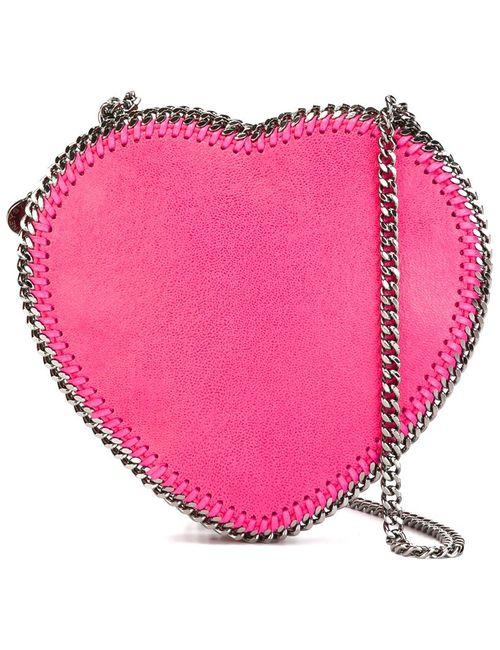 Stella Mccartney | Женская Розовая Сумка Через Плечо Falabella Heart