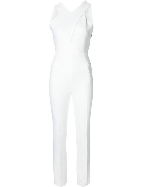 Roland Mouret | Женское Белый Saxby Jumpsuit