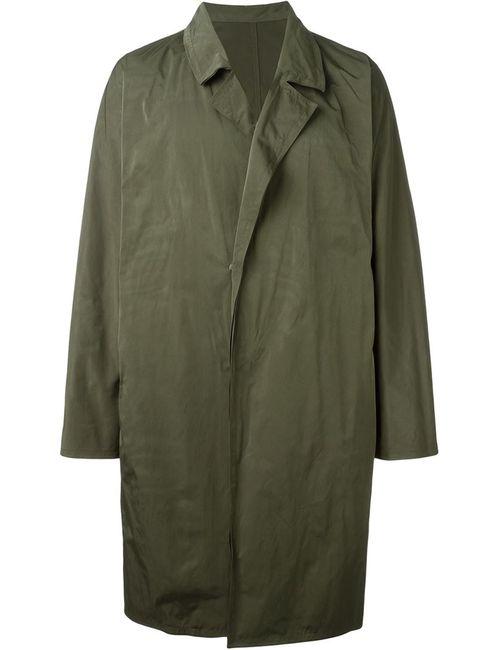 SYSTEM HOMME | Мужское Зелёный Oversized Coat