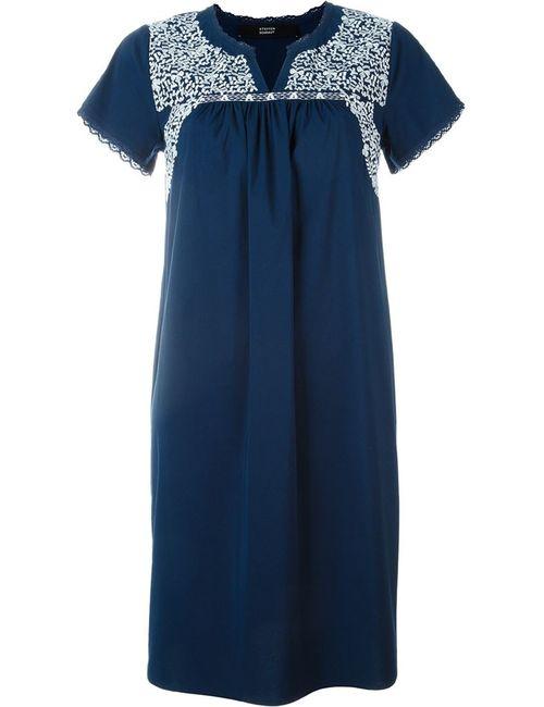Steffen Schraut | Женское Синий Embroidered Detail Dress