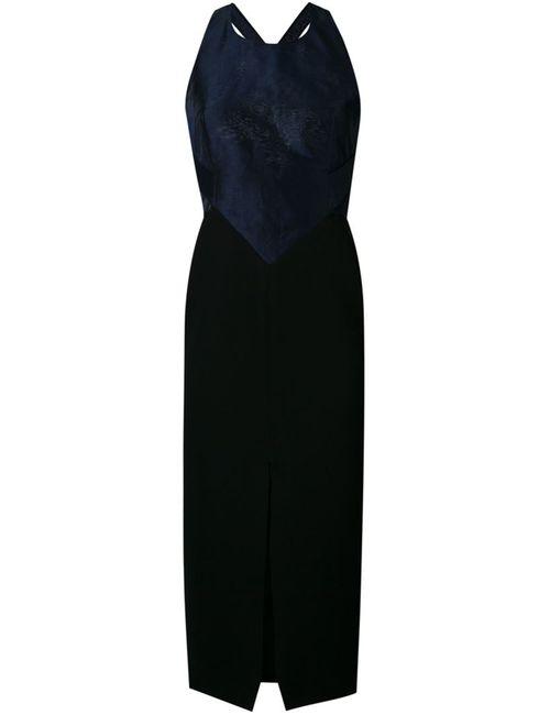 Bianca Spender | Женское Чёрное Платье Florence