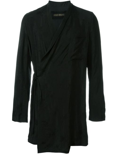 UMA WANG | Мужское Чёрный Kimono Long Giacomo Jacket