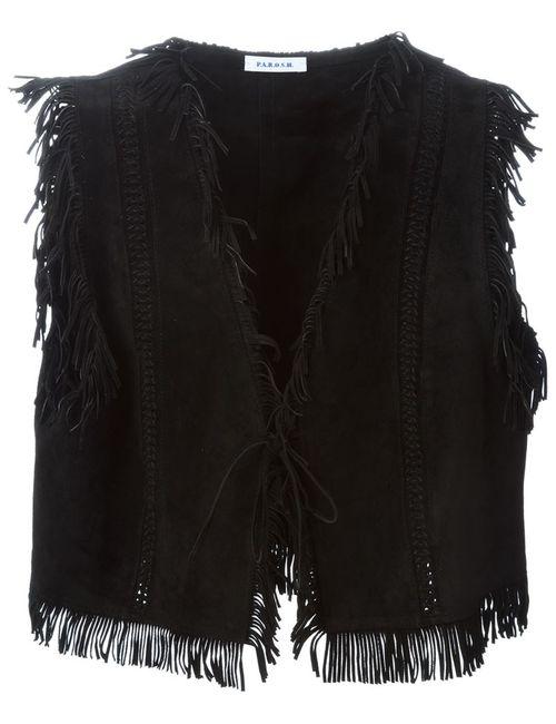 P.A.R.O.S.H. | Женское Черный Muland Waistcoat