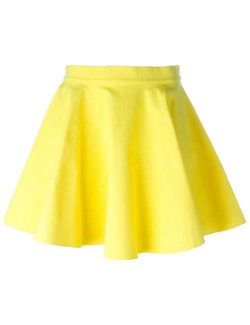 Jeremy Scott | Женское Желтый Skater Skirt