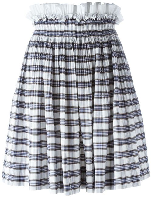 No21   Женское Белый Quadro Skirt