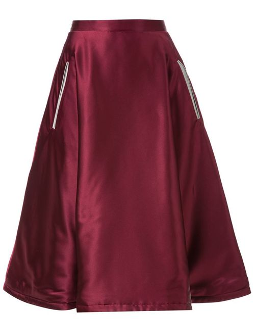 MURRAL | Женское Красный Dagger Embroidered Full Skirt