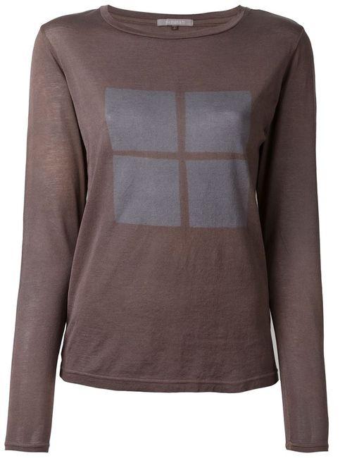 SUZUSAN | Женское Коричневый Jacquard Sweater