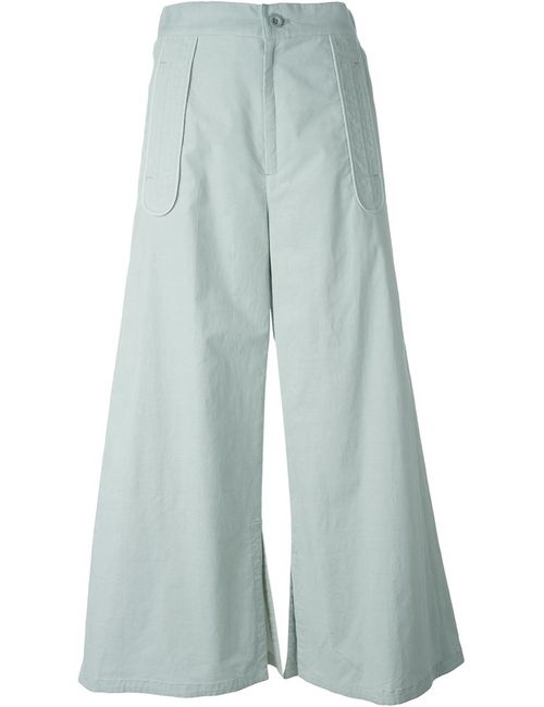 Tsumori Chisato | Женское Зелёный Wide-Leg Trousers