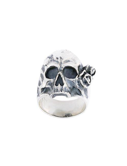 Maison Recuerdo | Женское Серебристый Skull Ring