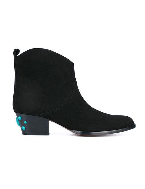 Aquazzura | Женские Чёрные Ботинки Cowboy