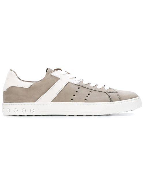 Tod'S | Мужское Серый Panelled Sneakers