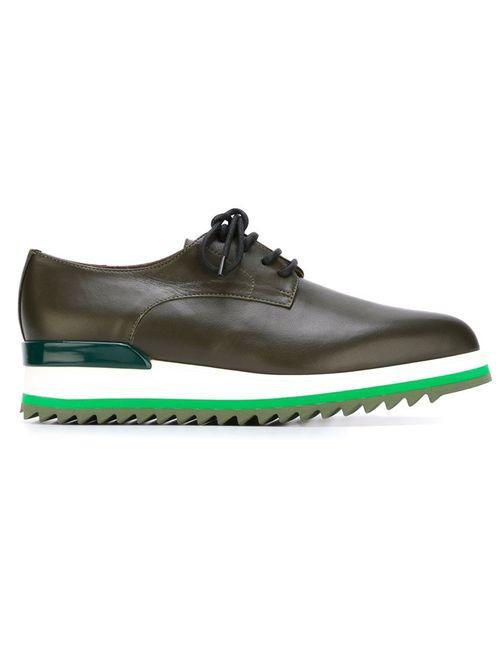 A.F.Vandevorst | Женские Зелёные Туфли На Платформе