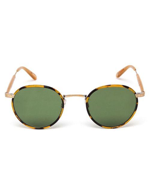 GARRETT LEIGHT | Мужские Зелёные Солнцезащитные Очки Wilson