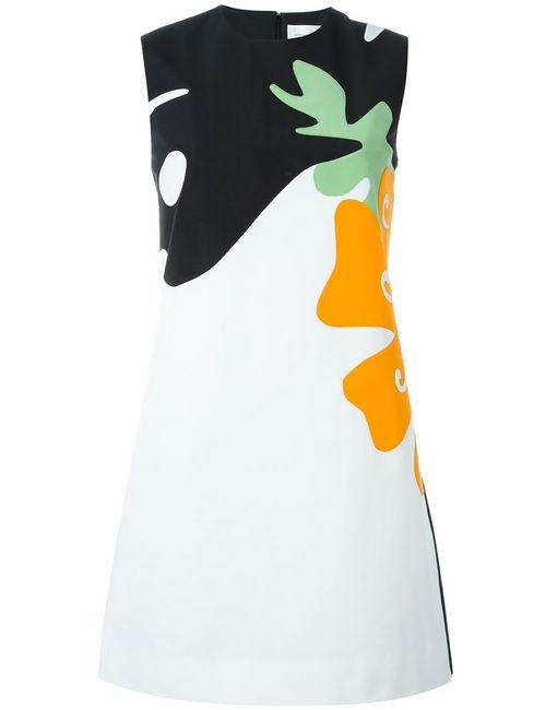 Victoria, Victoria Beckham | Женское Многоцветное Платье С Принтом