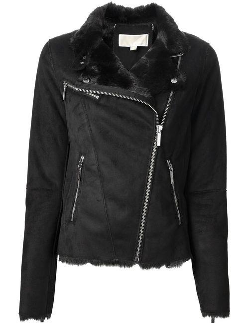 Michael Michael Kors | Женская Чёрная Байкерская Куртка