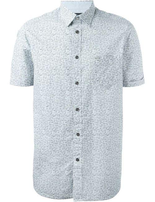 Diesel | Мужское Белый Leaf Print Shirt